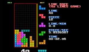 Récord mundial de Tetris: 40 líneas perfectas en 20 segundos