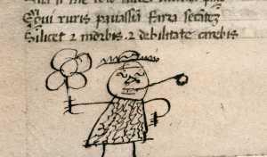 O tédio na Idade Média: rabiscos de 800 anos atrás