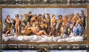 Qual é o seu deus do Olimpo?
